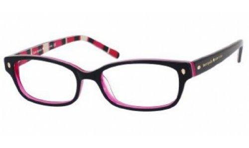 Kate Spade Lucyann Eyeglasses-0X78 Black Pink - X Glasses Zero