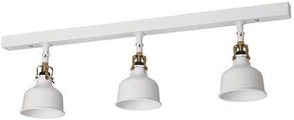 IKEA RANARP - pista de techo, 3-puntos blancos: Amazon.es: Hogar