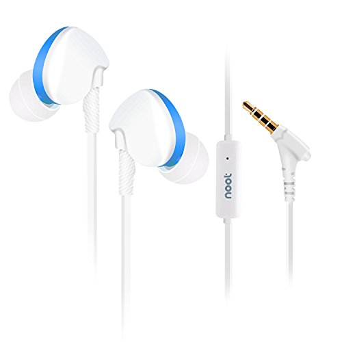 Earphones Microphone ND T2 Blue Isolating headphone product image