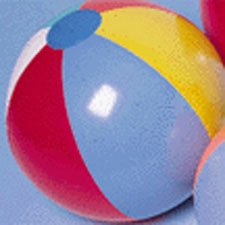 U.S. Toy Beachball Inflates/15 Inch