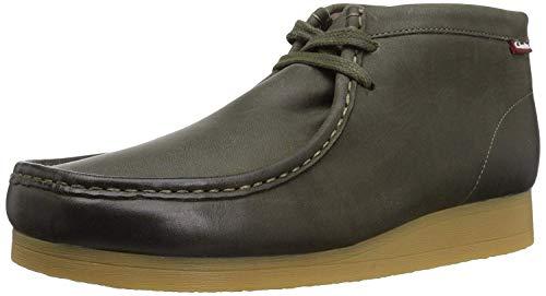 - Clarks Men's Stinson Hi Chukka Boot, Dark Olive Leather, 10 M US