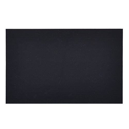 Towashine Thin ABS Plastic Sheet Black 200 x 300 x 0.5mm for Refrigeration Food Industry Tool