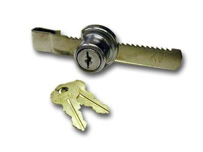 Knape & Vogt Rachet Lock 1/4in Glass Polished Chrome by Knape & - Lock Rachet