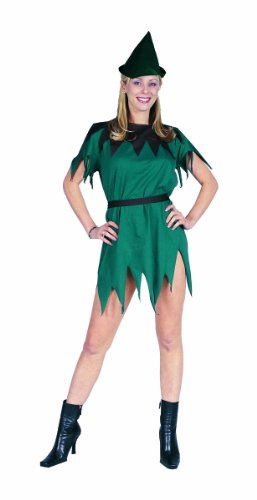 Lady Robin Hood (RG Costumes Women's Lady Robin Hood, Green, One)