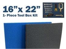 5S LEAN TOOL BOX FOAM ORGANIZERS 16
