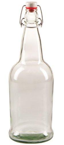 oz Clear Cap Kombucha Bottle product image