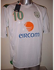 Republic of Ireland Shirt Jersey Adult Large BNWT Robbie Keane ... f81a66e43