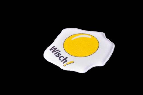 Cubo de huevo huevos fritos de limpieza de pantalla-cleaner pad de microfibra de alta tecnología para Visualización del versión no autoadhesivo de doble ...