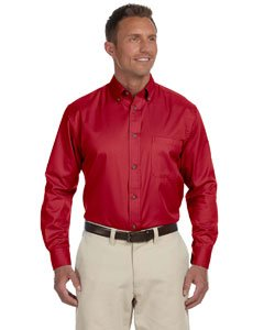 Harriton M500 - Men's Easy Blend™ Long-Sleeve Twill, used for sale  Delivered anywhere in Canada