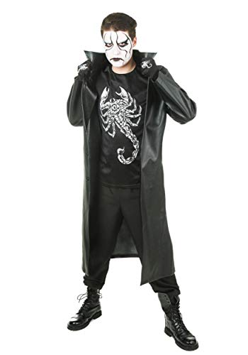 WWE Sting Costume Large Black]()