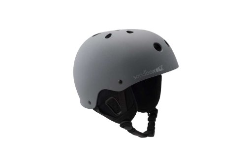 Sandbox Legend Helmet (Small/Medium, Grey), Outdoor Stuffs