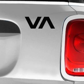 RVCA Automotive Decal/Bumper Sticker LakepointOne.com
