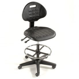 Black 5-Way Adjustable Ergonomic Stool 225 Lbs Capacity  sc 1 st  Amazon.com : ergonomic bar stool - islam-shia.org