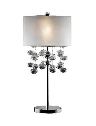 Ok lighting ok 5122t glass bubble table lamp 32 inch polished ok lighting ok 5122t glass bubble table lamp 32 inch polished chrome aloadofball Gallery