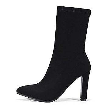 Desy Zapatos Mujer Novedad Invierno Personalizados De Materiales r4Twx8qrF