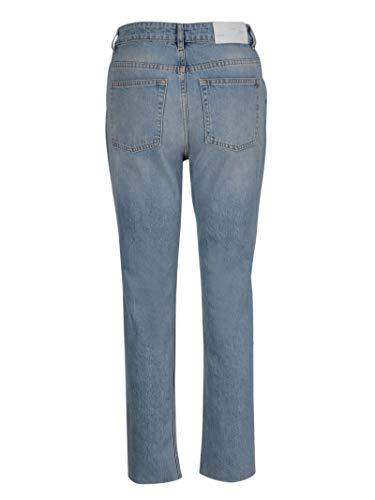 Jeans Cotone Azzurro Donna 19swm22mikablu01 Iro Rfq6wYaa