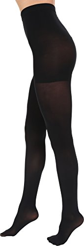 Falke Women's Shaping Panty 50 Opaque Tight, Black, Large