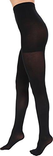 Falke Women's Shaping Panty 50 Opaque Tight, Black Medium/Large