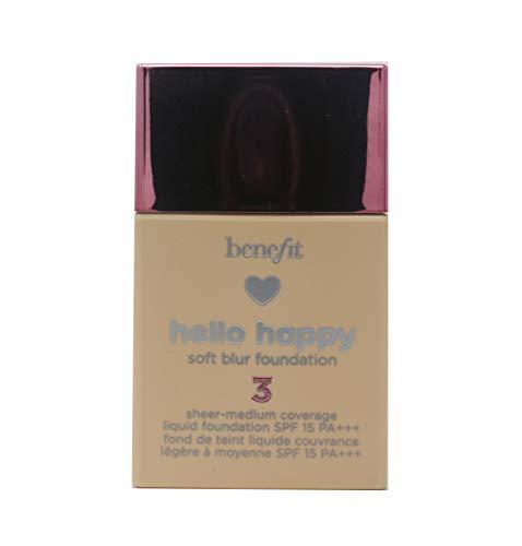 Benefit Cosmetics Hello Happy Soft Blur Foundation Shade - Soft Foundation