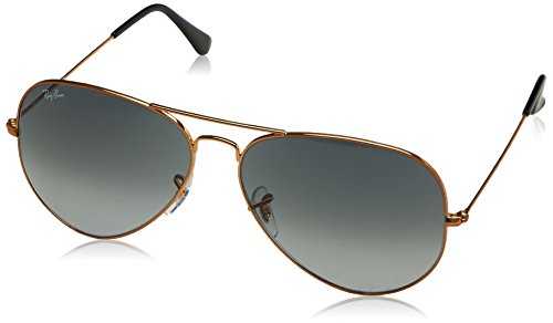 Ray-Ban Men's Large Metal Ii Aviator Sunglasses, Shiny Bronze, 62 - Ban Prescription Glasses Ray Aviator