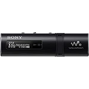Sony NWZ-B183F Flash MP3 Player with Built-in FM Tuner (4GB) – Black