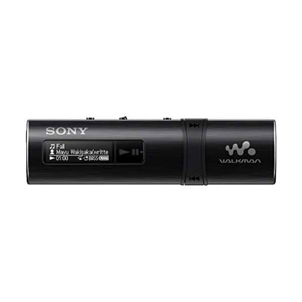 Sony NWZ-B183F Flash MP3 Player with Built-in FM Tuner (4GB) - Black 3