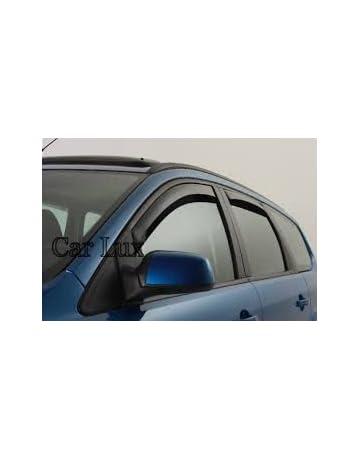 Car Lux AR04160 - Derivabrisas Deflectores de aire Cortavientos de Ventanilla para Pathfinder