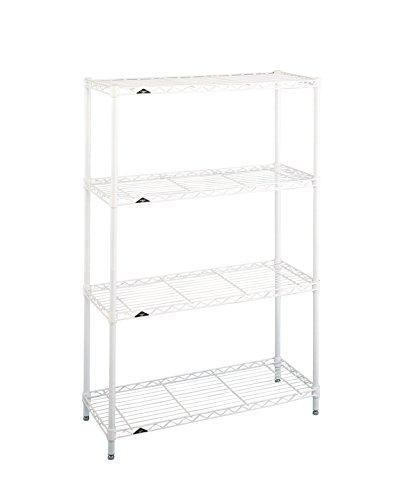 Intermetro Shelving - InterMETRO LK1436NW Professional's Choice 4-Shelf PrePacks Room Organizer, 36