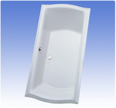 TOTO ABY784N#01N Clayton Soaker Tub, Cotton -