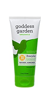Goddess Garden Organics lotion