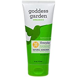 Goddess Garden Organics Everyday SPF 30 Natural Sunscreen, Lotion, 6 Ounce