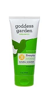 Goddess Garden Organics  Everyday SPF 30 Natural Sunscreen, Lotion, 6 Ounce