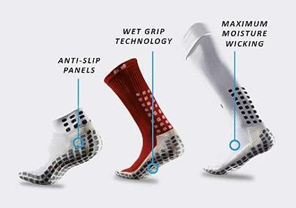 White//Black Full Length Over Calf Team Socks