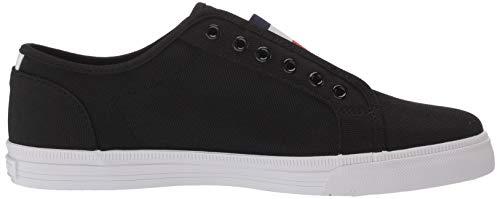 Tommy Hilfiger Women's ANNI Sneaker, Black,6 M US
