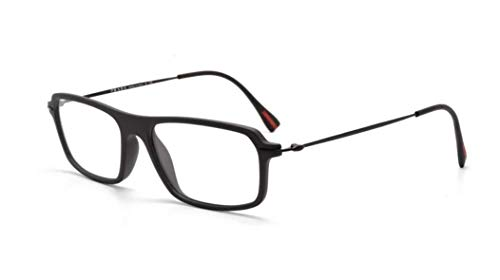 Prada Sport Model - Prada Sport PS03FV Eyeglasses-DG0/1O1 Black Rubber-53mm