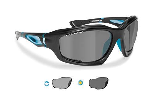 BERTONI zelfkleurende sportbrillen polariserende winddichte sport zonnebril voor fiets MTB hardlopen fietsen Golf Ski…
