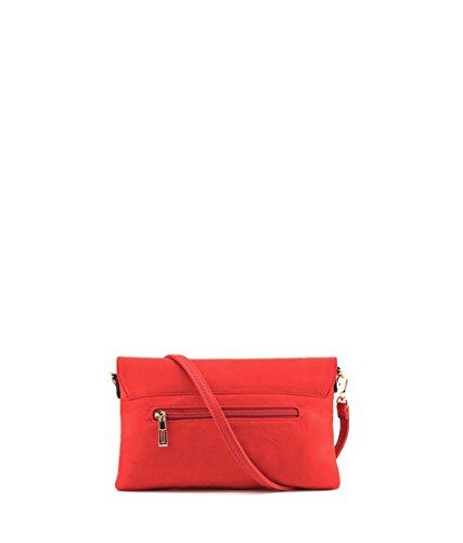 Partito Donna Modelisa Sopra Borsa Rosso E6w1nPqxA6