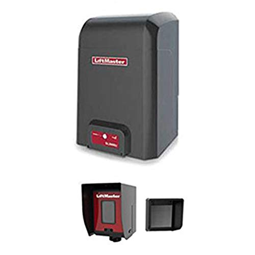 Heavy Slide Duty Gate (LiftMaster SL3000501U 1/2 HP Slide Gate Opener - 2 Free Liftmaster 811LM Remotes)