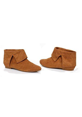 Men's 1 Inch Heel (Tan;Small) (Mens Renaissance Boots)