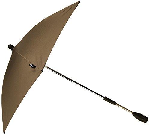Quinny 72404870 - Sombrilla con proteccion UV para sillas de paseo Buzz, Speedi, Senzz, Zapp Xtra y Zapp, color marron