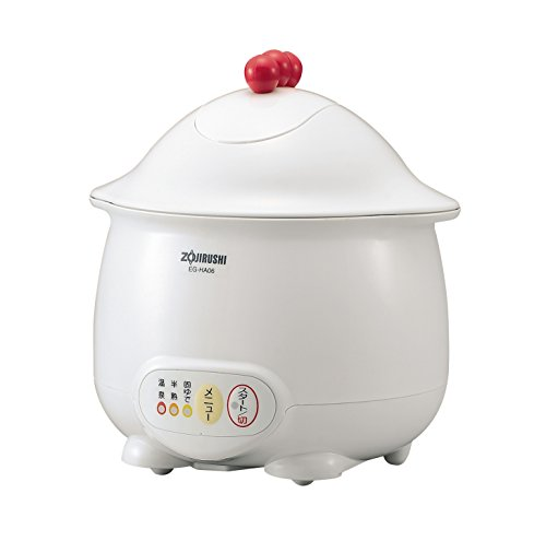 Zojirushi Egg DODODO microcomputer hot spring egg device EG-HA06-WB White