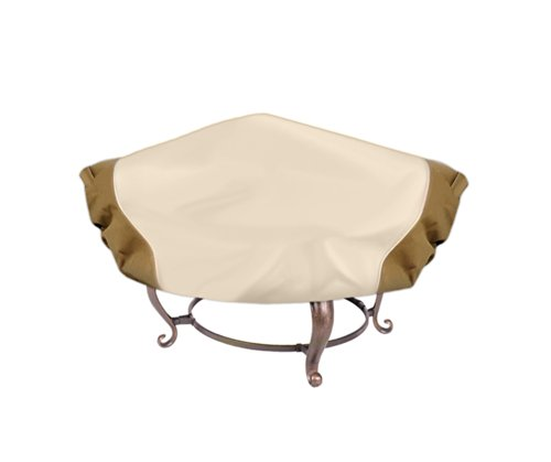 Pyle PVCFP94 Armor Shield Patio Fire Pit Cover, 60-Inch, Fits Round Fire Pit (The Pit Furniture Store)