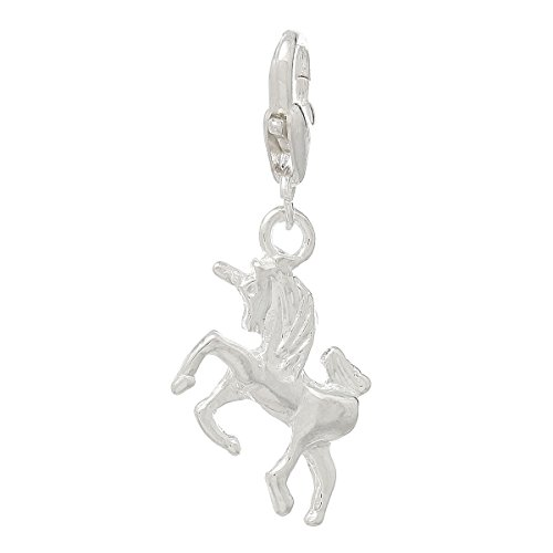 Housweety Unicorn Charms Bracelet 37x16mm