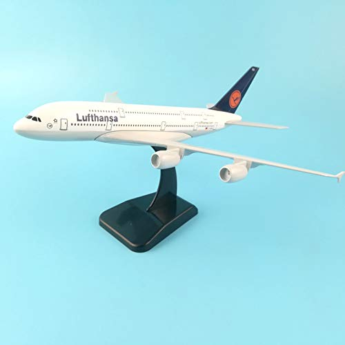 Marreto German Air Lufthansa Airways Boeing 747 20Cm Metal Alloy Plane Model B747 400 Airlines Airplane Model W Stand Aircraft Gift Toys