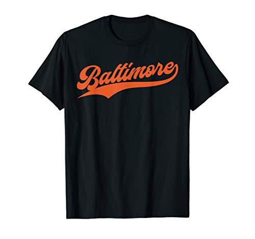 Orioles T-shirts - Baltimore Baseball |  Vintage Oriole Retro Gift T-Shirt