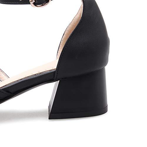 5 Compensées Sandales EYR00218 Noir EU 36 Noir Aimint Femme 0Eq116