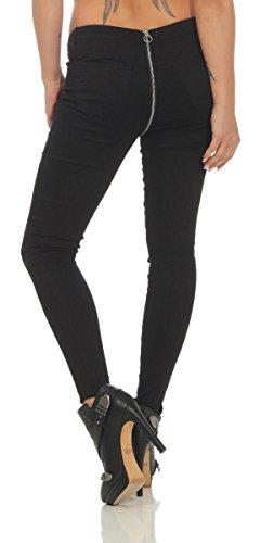 Fashion Femme Jeans OSAB Slim Noir TtPdTwqB