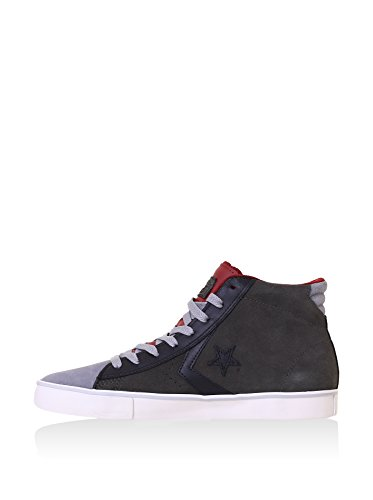Converse Pro Leather Vulc, Men's High Trainers Anthracite
