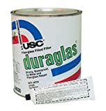 U. S. Chemical & Plastics Duraglas Fiberglass Filled Filler, Gallon (USC-24030)