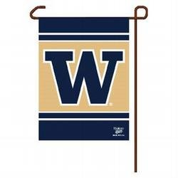 NCAA Washington Huskies Garden Flag